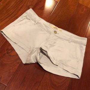 Hollister Light Gray Shorts size 1
